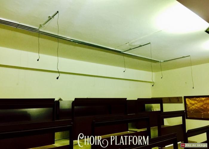 Choir platform