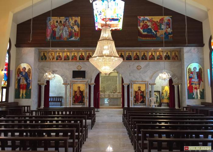 Virgin Mary church, saghbine